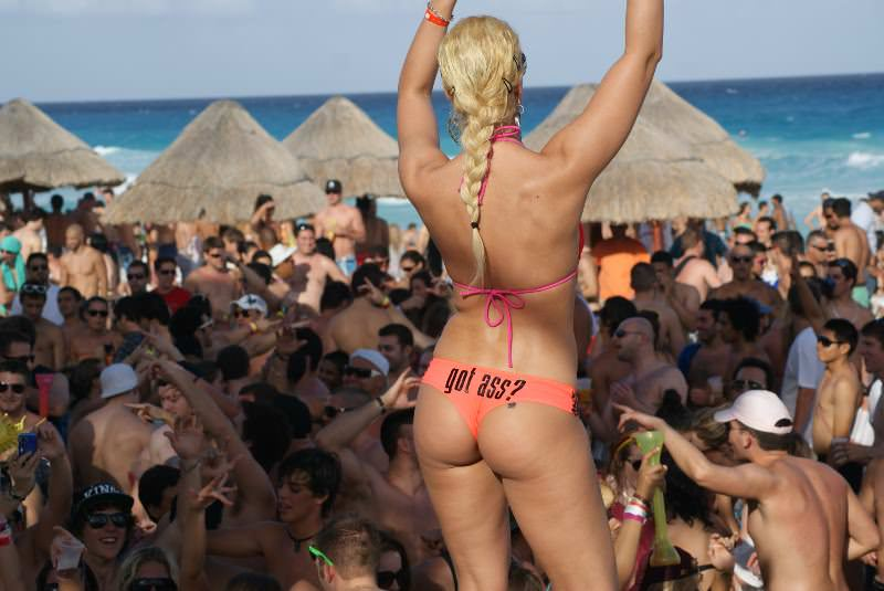 Spring Break Party in Cancun